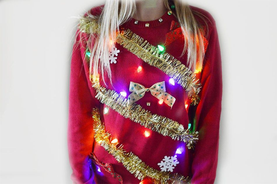 Ugly Christmas Sweater Homemade Wikie Cloud Design Ideas