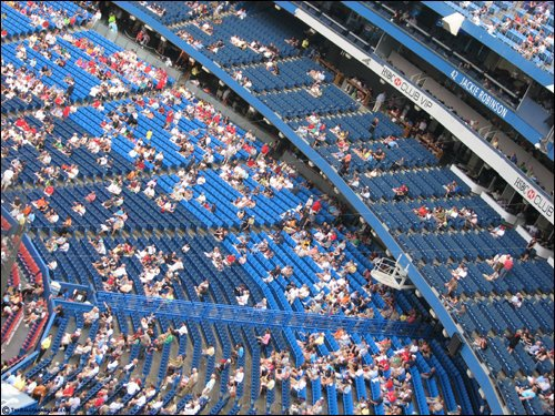 THE BEST Seats at Rogers Centre (Toronto Blue Jays