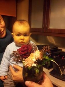 Amelia's first flowers / pierwsze kwiaty Amelki