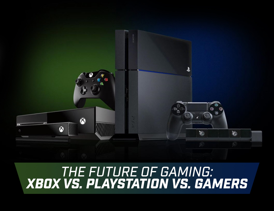Xbox In The Future : The future of gaming xbox vs playstation gamers