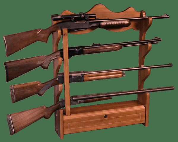 Top 10 Gun Rack Plans The Basic Woodworking