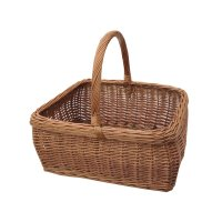Buy Rectangular Large Wicker Shopping Basket from The ...
