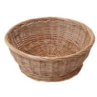 Buy Large Round Wicker Storage Basket Bowl from The Basket ...