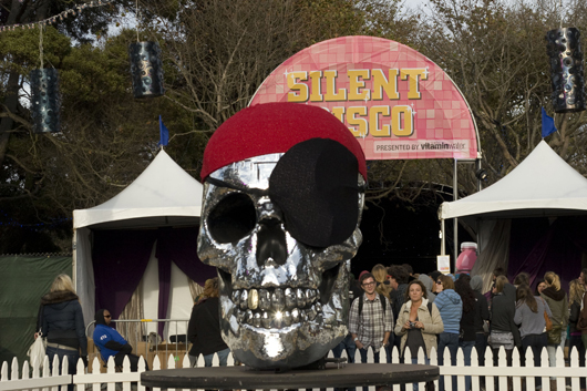 Silent Disco and skull