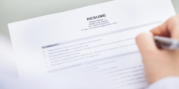 My Resume Doesn\u0027t Fill Up One Full Page - The Bean Counter - how to fill up a resume