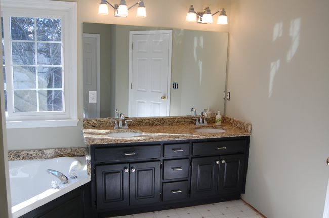 To see more photos of the vanity remodel please visit this facebook
