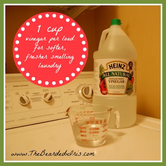 put vinegar in washing machine
