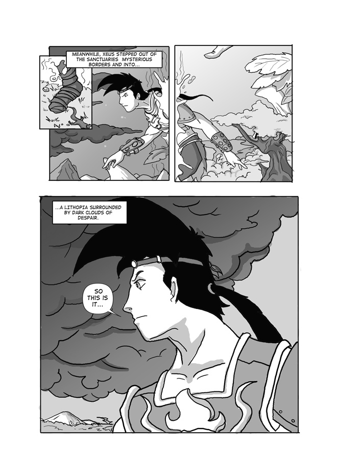 Issue 03, Page 20,Beyond The Sanctuary