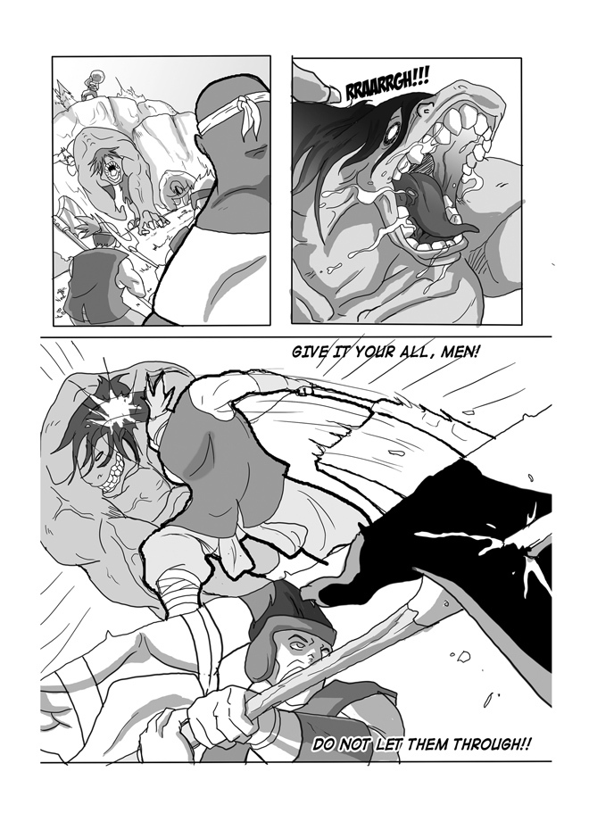 Issue 07, Page 05, Guarding their Post