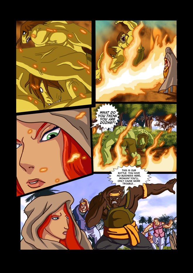 Issue 07, Page 11, Forceful Retreat