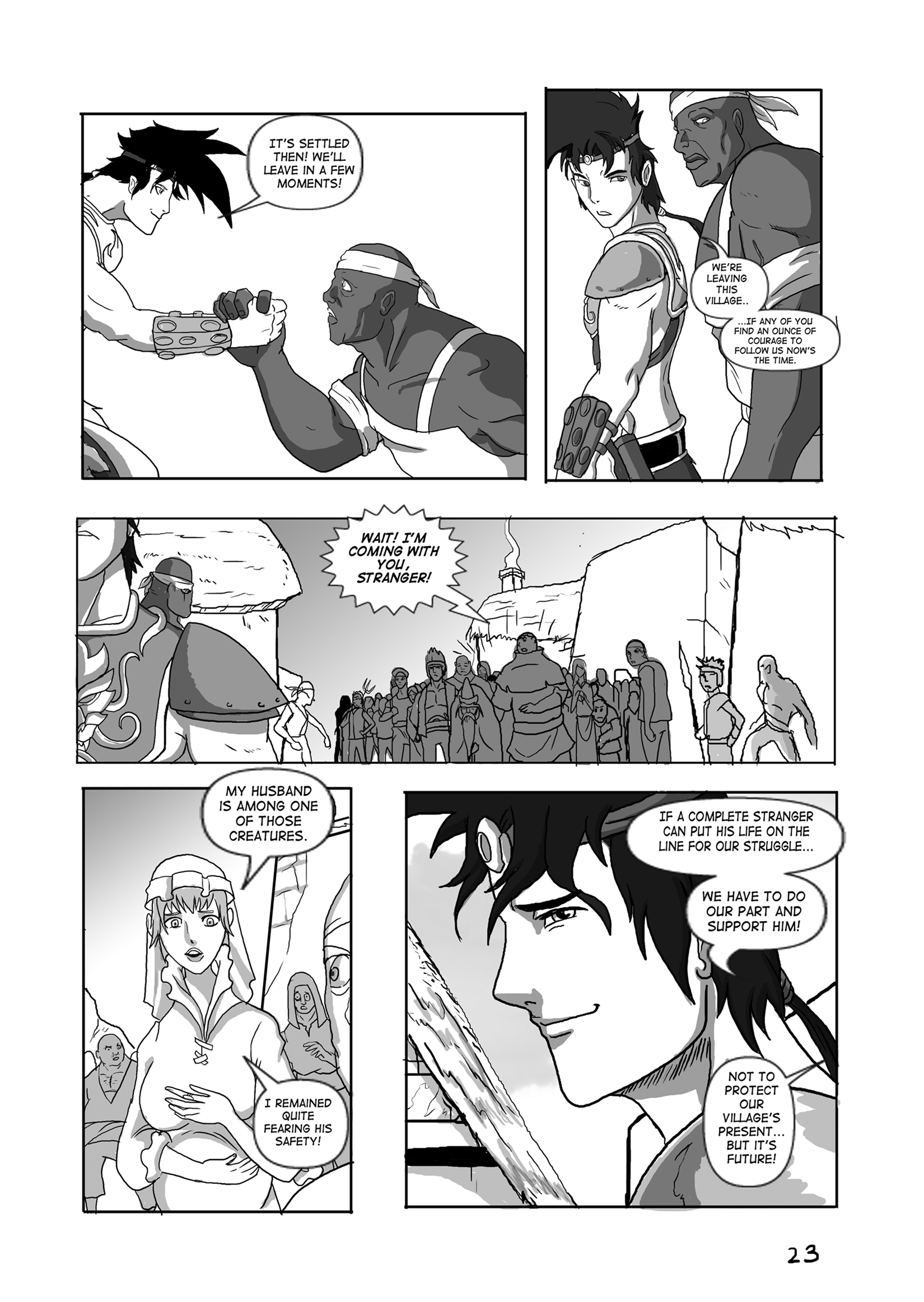 Issue 08, Page 23, Courage