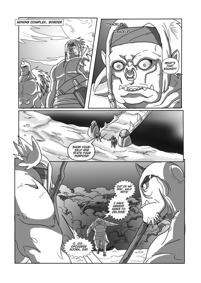 Issue 08, Page 27, Njora's Return