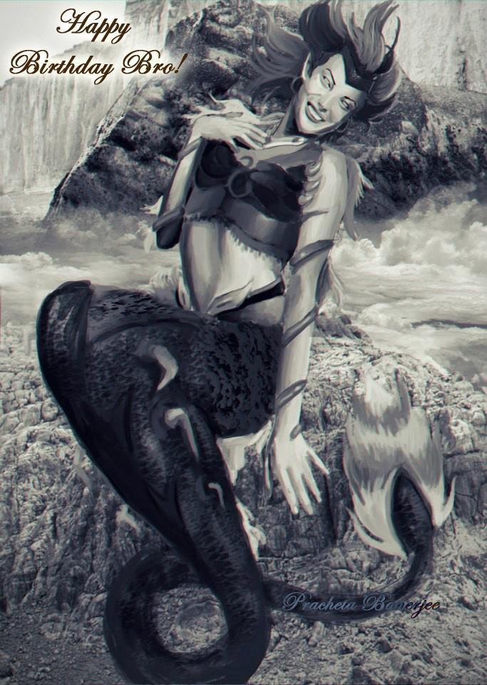 Birthday Fan art Week: Leviatha by Pracheta