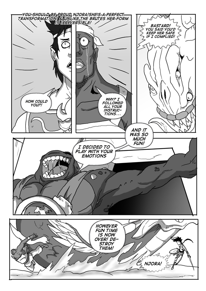 Issue 09, Page 15, Ultimate Double Cross
