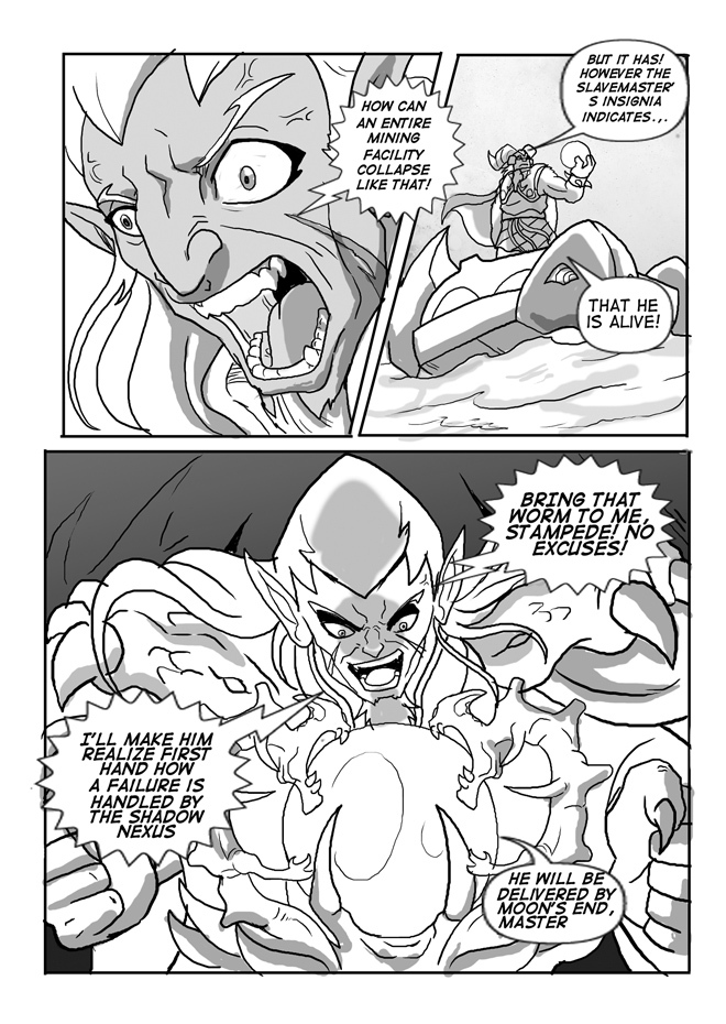 Issue 10, Page 04, Dragos's Anger