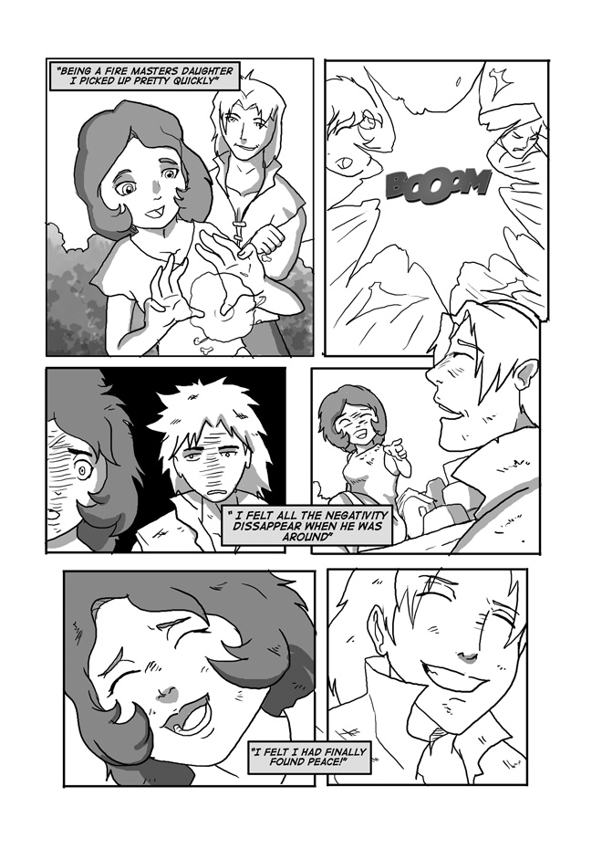 Issue 10, Page 22, Finding Solace