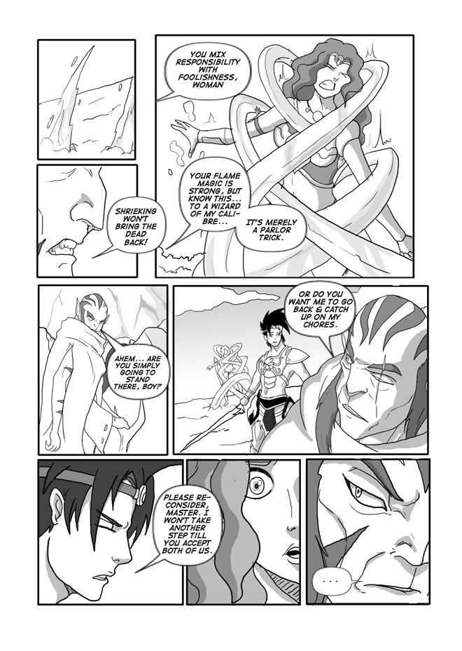 Issue 11, Page 13, Xeus's Request