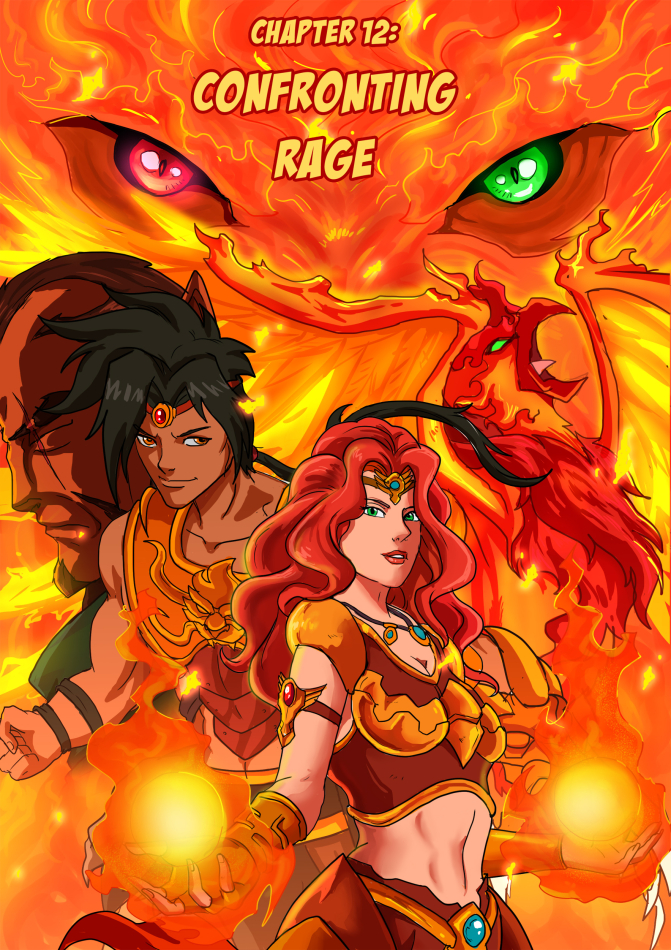 Issue 12: Confronting Rage (Special Splash Cover)