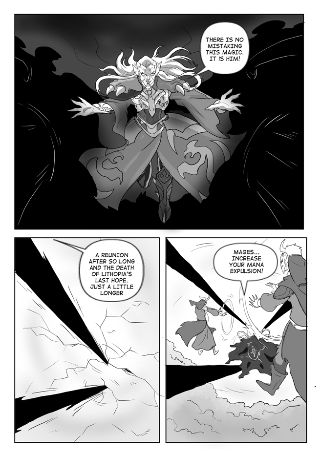 Issue 14, Page 18, Dragos at the Gates!