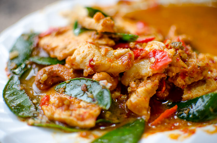 The spiciest chicken I ate in all of Thailand.