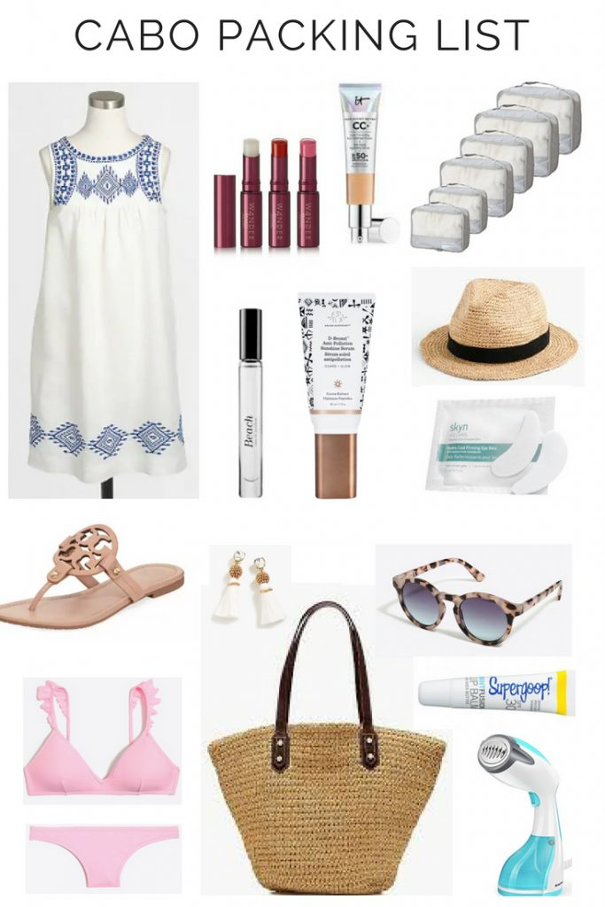 MY BEACH VACATION PACKING LIST - CABO TRIP The Beauty Blotter
