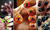 Easy Halloween Nail Art | www.imgkid.com - The Image Kid ...