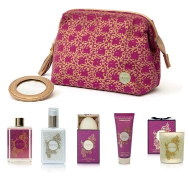 frangipani wash bag