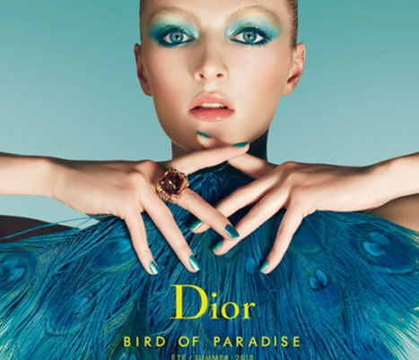 Dior-Summer-2013-Bird-of-Paradise-Collection-Promo