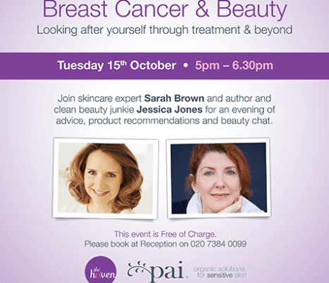 Breast Cancer & Beauty Evening Oct 15