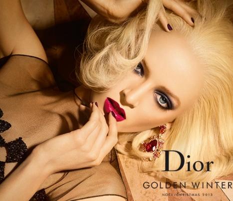 dior golden winter