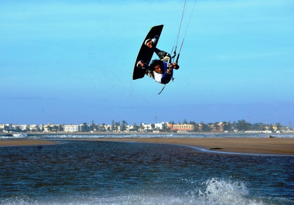 explora kite surfer essaouira