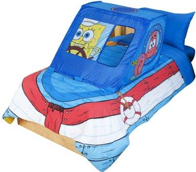 pongeBob Boat Bob Bed Tent