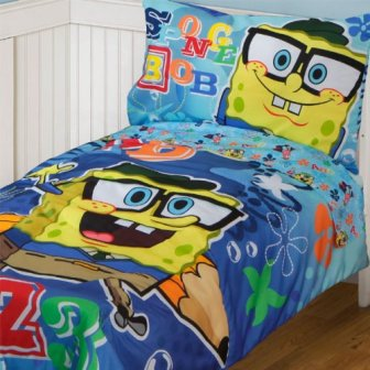 Spongebob Squarepants Toddler Bedding Set