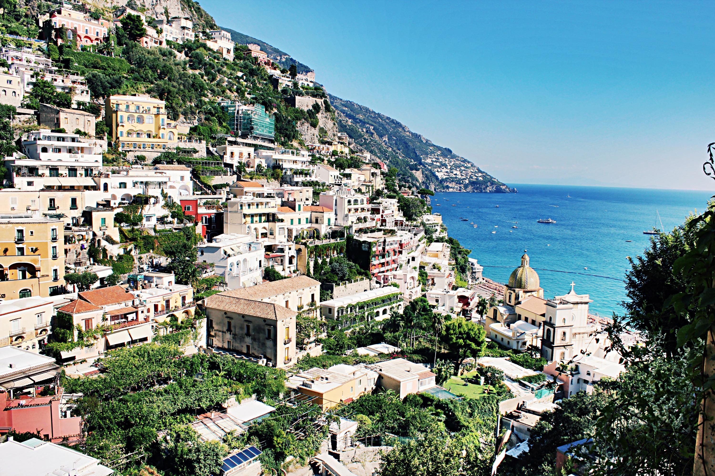 Amalfi wanderings positano praiano the belle abroad for Amalfi to positano