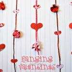 Hanging Valentine Garland