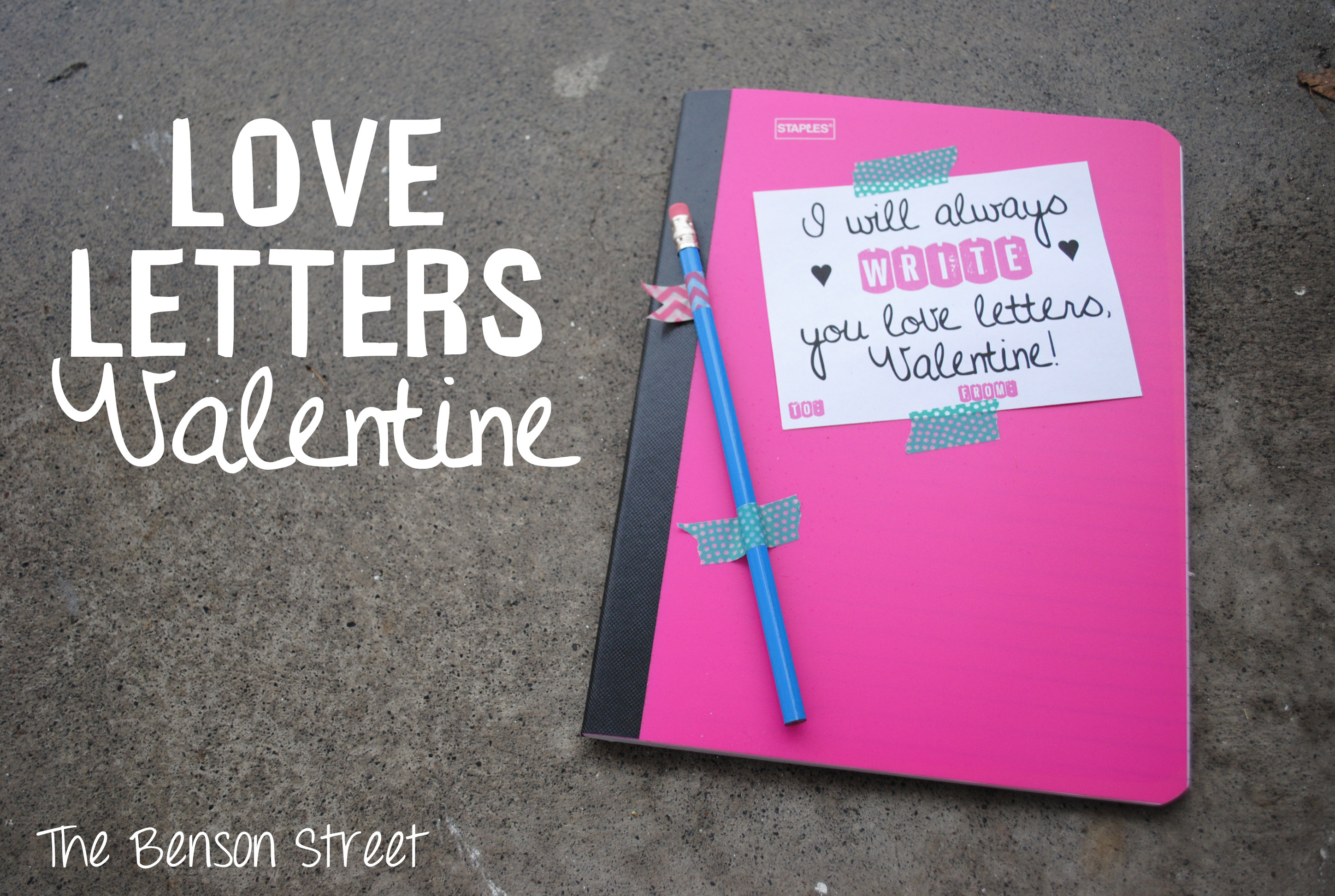 Love Letters Valentine at The Benson Street6