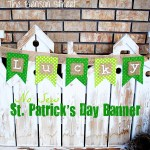 No Sew St. Patrick's Banner