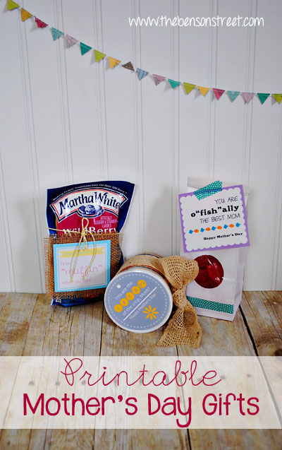 Printable Mother's Day Gift Ideas at www.thebensonstreet.com copy
