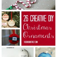 26 Easy DIY Ornaments