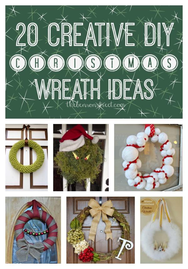 20 DIY Christmas Wreaths