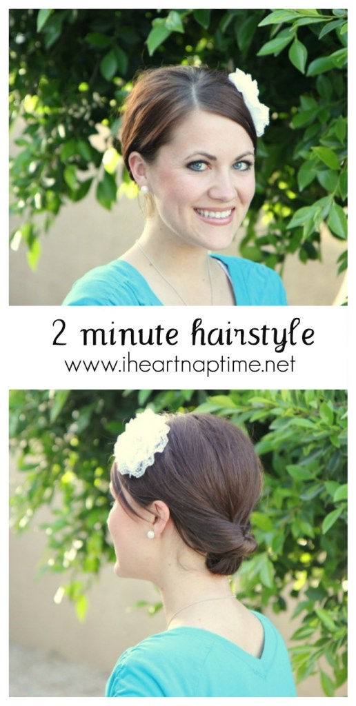 2-minute-hairstyle Pony