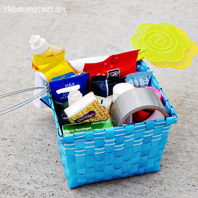 Camping Survival Kit at thebensonstreet.com