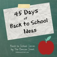 Back to School Series Introduction