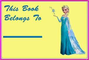Elsa Book plate
