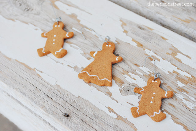 Gingerbread Man Ornaments at thebensonstreet.com