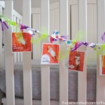 Birthday Banner with Ribbon at thebensonstreet.com