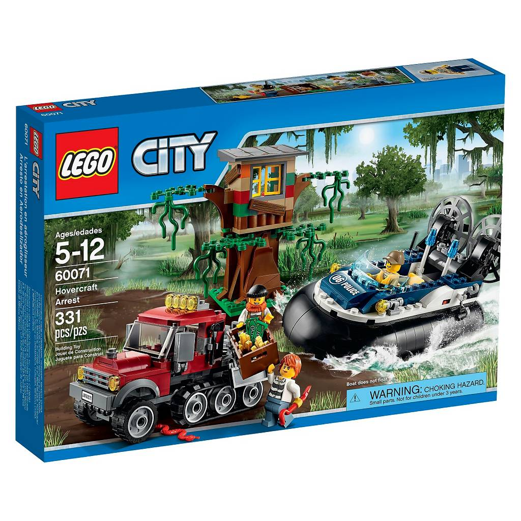 LEGO® City Police Hovercraft Arrest for $20.24 at Target B&M Was $40.49