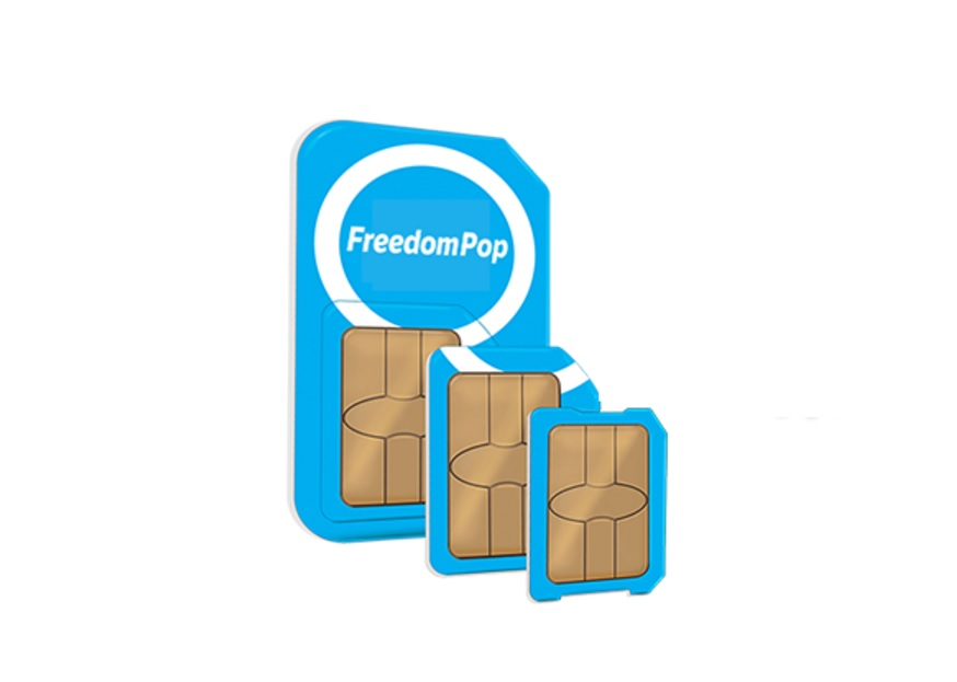 FreedomPop Global GSM 3-in-1 SIM Kit + 1GB Data Trial for 0.01 from FreedomPop