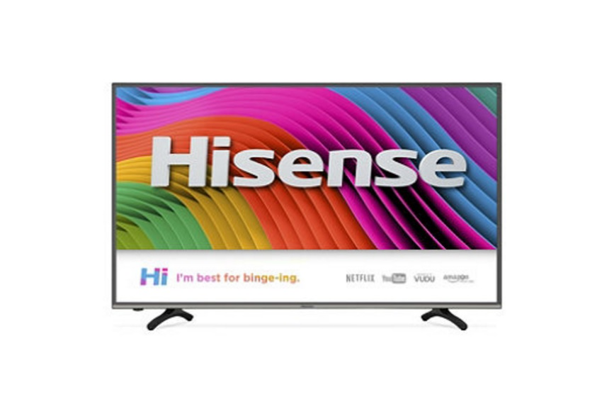 "Hisense 55"" Class 4K UHD HDR Smart TV for 499.99 at Bestbuy"
