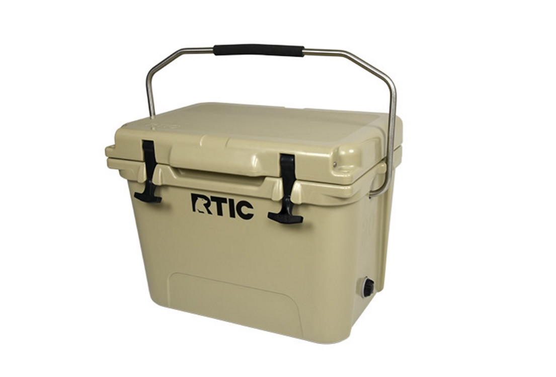 RTIC 20 Cooler Tan for $100 at Ritc